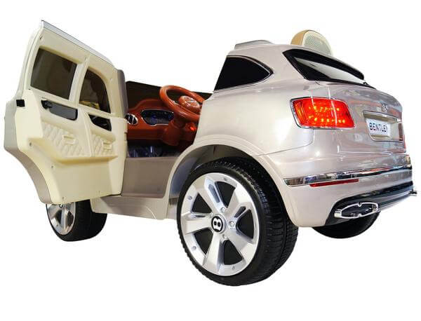 Bentley Bentayga Ride-On 12V Electric Kids Car - Kids Eye Candy