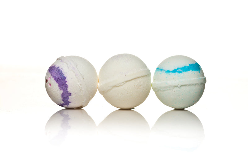 Bath Bomb Pearls Of The Sea Bundle 3-Pack - Kids Eye Candy