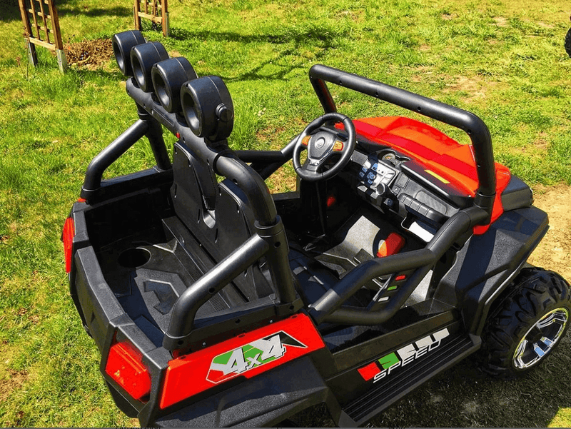 24V Buggy Max All Terrain Kids Ride-On Truck Two-Seater w/ Parental Remote - Kids Eye Candy