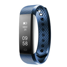 Load image into Gallery viewer, Smart Bluetooth Heart rate Pedometer with calorie counter Fitness Tracker Valentine's Day Gifts YH19