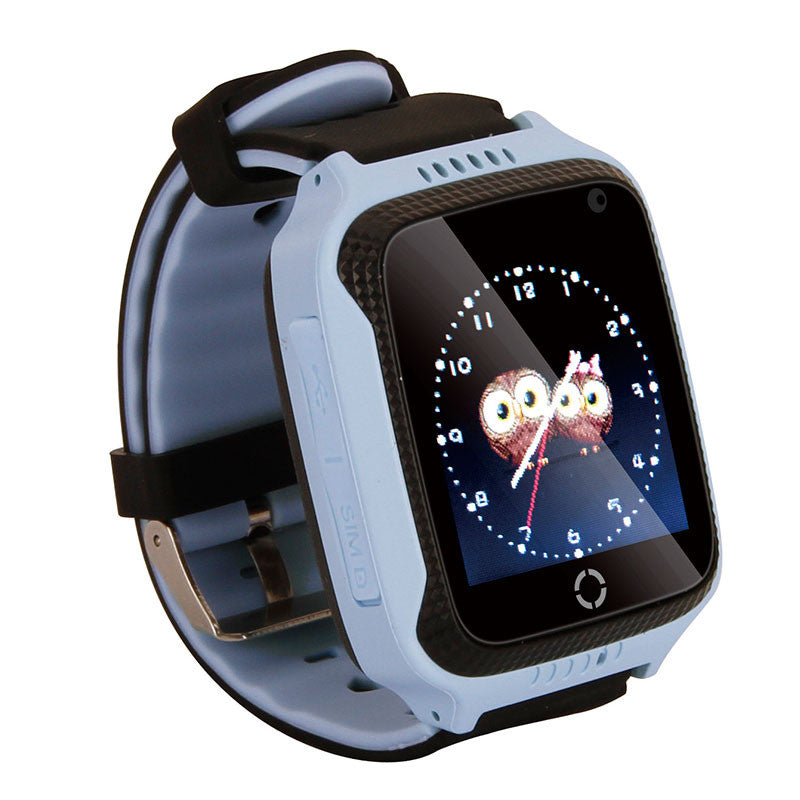 Kids 1.44'' inch Smart Watch Tracker GPS SIM Card Voice Photo Pedometer