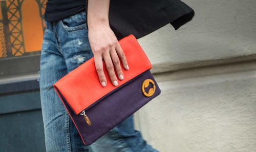 Carroll Foldover Clutch & iPad Purse | Canopy Verde