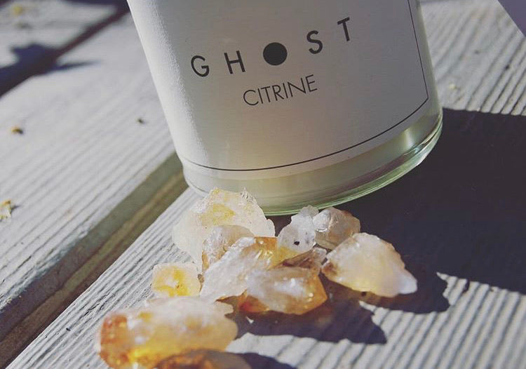 Citrine Candle by Ghost