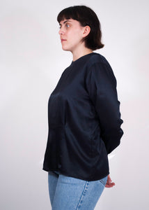 Indigo Jones Satiny Blouse,