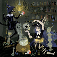 Witches and Potions Giclée Print