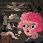 The Spooky Attic Giclée Print
