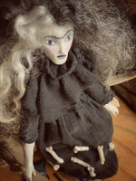 Wild Witch of Beast Forest Handmade One of a Kind Art Doll