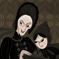The Wicked Mirror Giclée Print