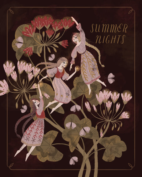 Summer Nights Giclée Print