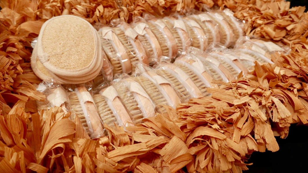 Natural Bristle Exfoliating Brush