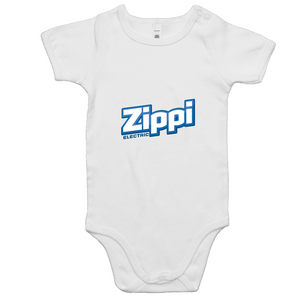 Official Zippi Electric Kids Onesie - Blue/White