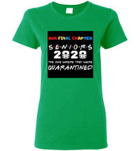 Load image into Gallery viewer, SENIOR GIRL 2020 QUARANTINED TEES