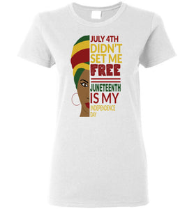 Juneteenth Independence Day Women Tank Top