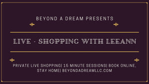 Live Shopping with Rev. Leeann Lilly RM