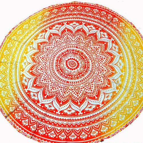 Orange & Yellow Ombre Tapestry
