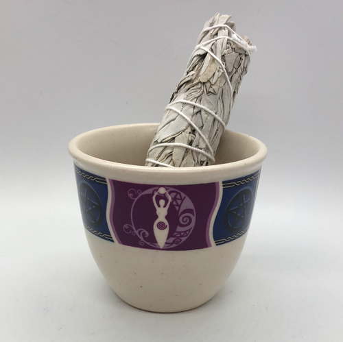 Goddess Smudge Pot