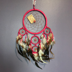 Pink Native Dreamcatcher