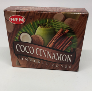 Coco Cinnamon Cone Incense