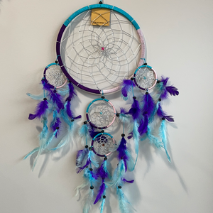 Purple & Teal Dreamcatcher