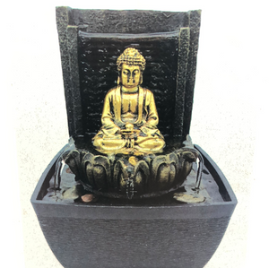 Meditating Buddha Fountain