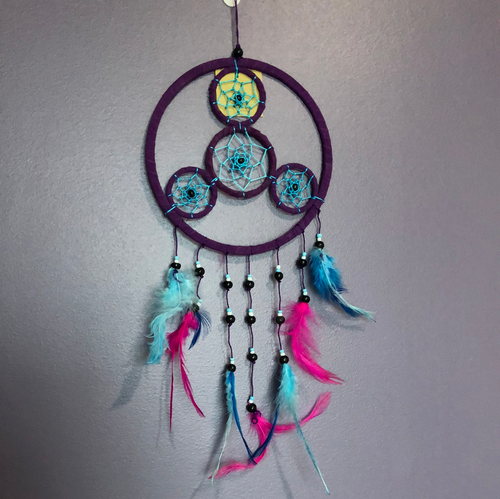 Purple & Pink Dreamcatcher