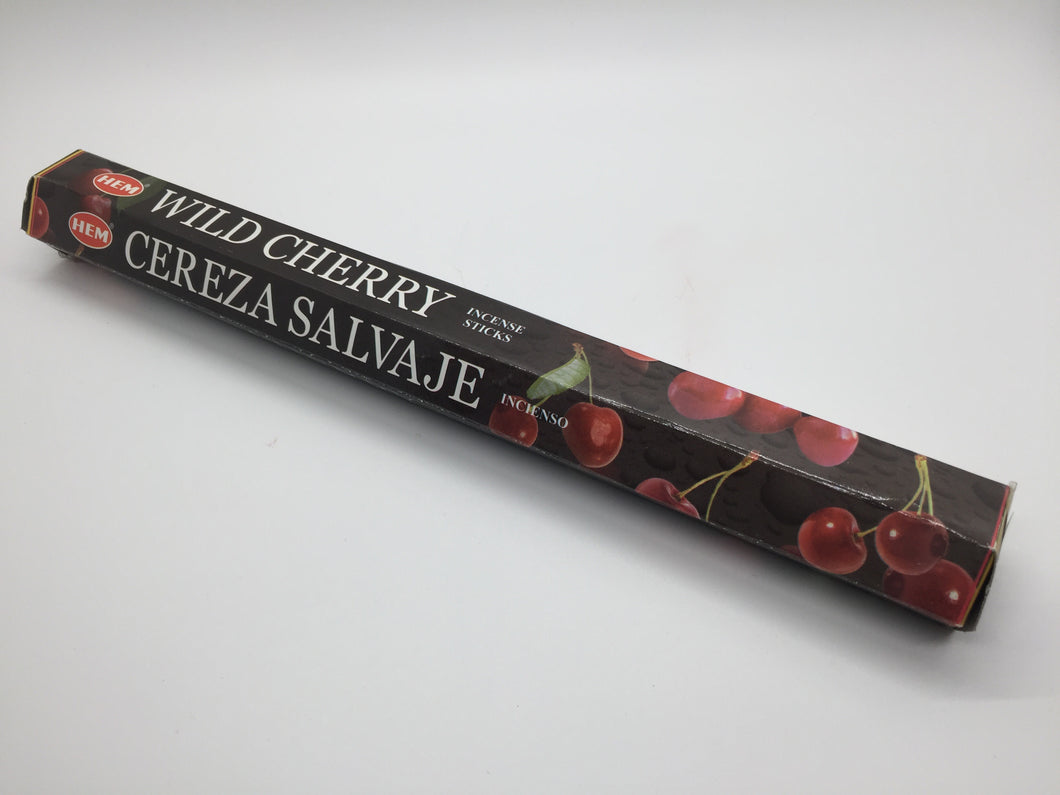 Wild Cherry Incense Sticks