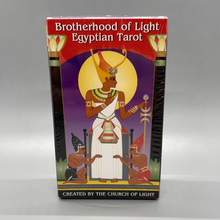 Load image into Gallery viewer, Brotherhood of Light Egyptian Tarot