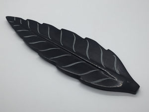 Incense Stick Ash Catchers - Leaf Soapstone