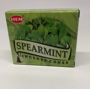 Spearmint Cone Incense