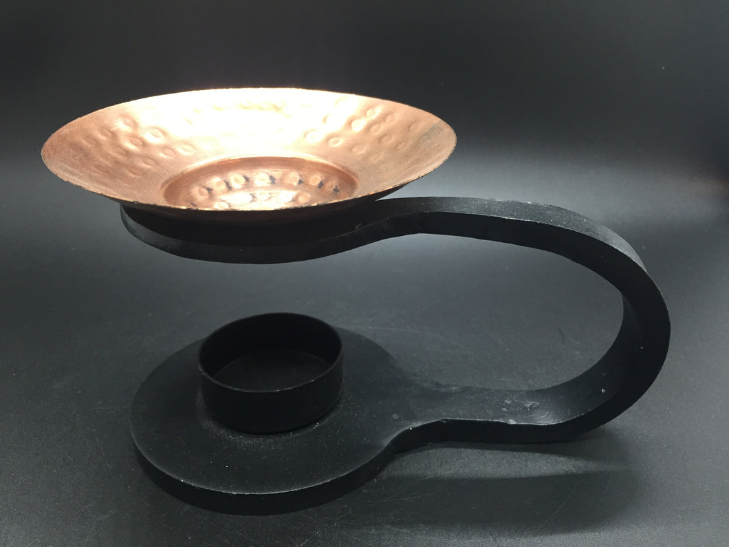 Resin Burners - Wrought Iron and Copper