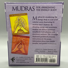 Load image into Gallery viewer, Mudras for Awakening the Energy Body Deck & Book Set