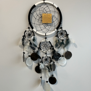 Black & White Dreamcatcher