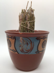 Native Smudge Pot