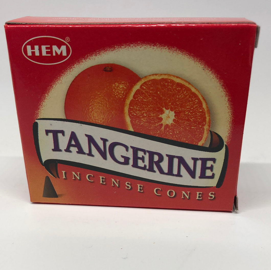 Tangerine Cone Incense