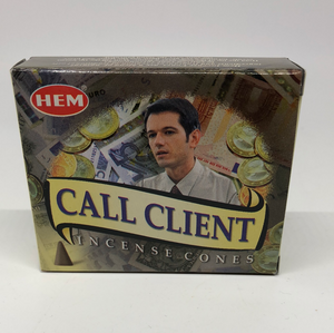 Call Client Cone Incense