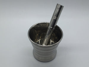 Mortar and Pestles - Silver Metal