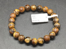 Load image into Gallery viewer, Gold Tiger Eye Bracelet