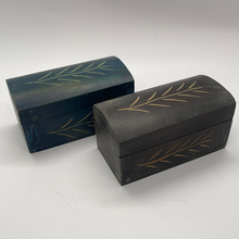 Load image into Gallery viewer, Mini Carved Wooden Box