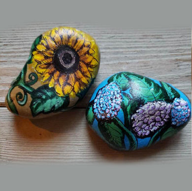 Rock Painting with Dawn (Okemos)