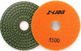"Z-LION 4"" Diamond Polishing Pad w/Backer"