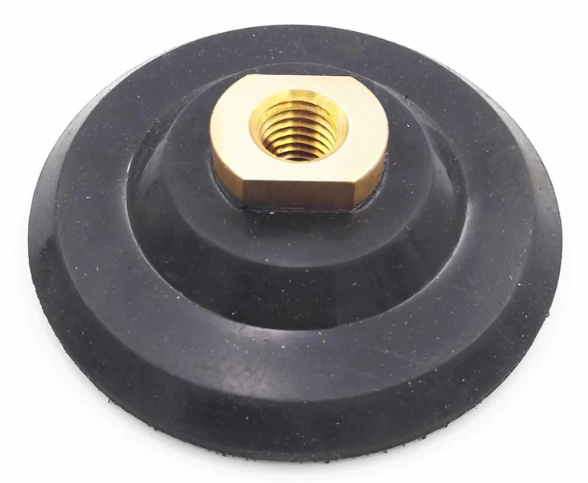 "DIATOOL Backer Pad for polishing pads M14 Thread Diameter 4"" Rubber Based"