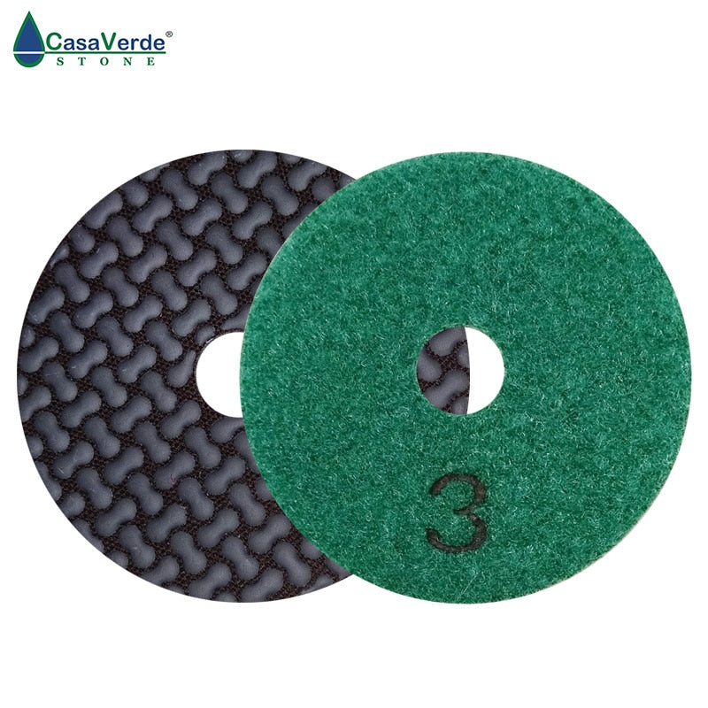 Flexible Dry 5 Step Polishing Pads