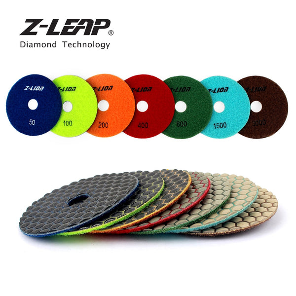 Z-LEAP 7 Step Dry Polishing Pads