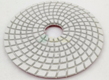 "4"" Polishing Pads White Bond for Granite, Marble, Quartz"