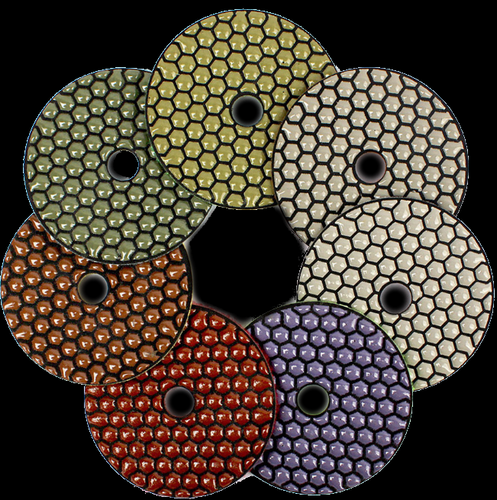 Dry Resin Bond Polishing Pads