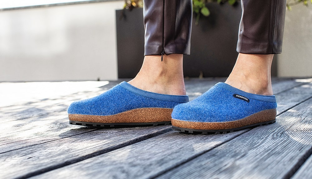 warm slip on slippers for the house