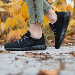 Giesswein Merino Wool Runners WOMEN - black 022