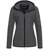 Giesswein Merinowoolhooded Jacket W - night gray 028
