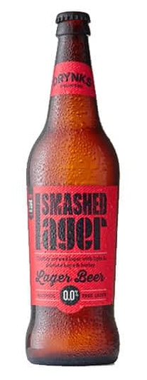 Smashed Lager 660ml - Drynks 0.05% 660ml Case of 12