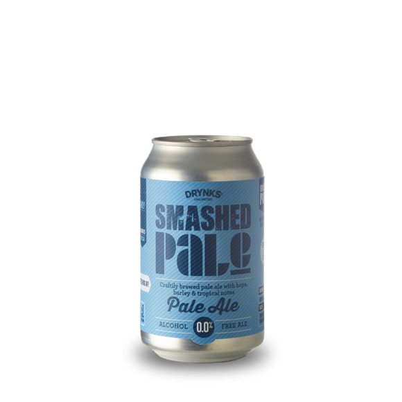 Smashed Pale Cans - Drynks 0.05% 330ml Case of 12